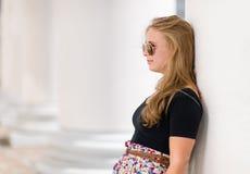 Posing girl Stock Photos