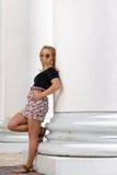 Posing girl Stock Photography