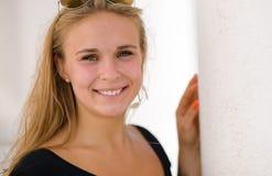 Posing girl Stock Images