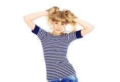 Posing girl Royalty Free Stock Photography