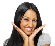 Posing Indian woman Stock Photography
