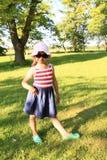 Posing little girl Stock Photo