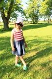 Posing little girl Stock Photos