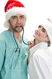 Posing medical professionals Royalty Free Stock Images
