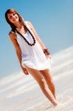 Posing On The Beach Royalty Free Stock Photos