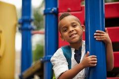 Posing On The Playground Royalty Free Stock Image