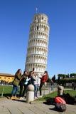 posing tourists Royalty Free Stock Image