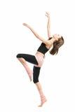Posing young dancer Royalty Free Stock Photos