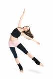 Posing young dancer Stock Photos