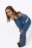 Posing young girl Royalty Free Stock Image