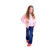 Posing young girl Stock Photos