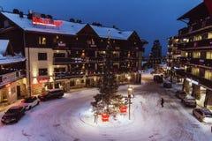 Posio-Stadt u. x28; Lappland, Finland& x29; lizenzfreie stockfotografie