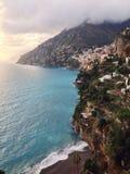 positano της Ιταλίας Στοκ εικόνα με δικαίωμα ελεύθερης χρήσης