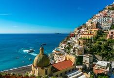positano της Ιταλίας στοκ φωτογραφία