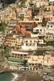 positano Италии стоковое фото rf