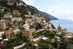 Positano, Италия Стоковые Изображения RF