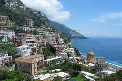 positano Италии Стоковое Изображение