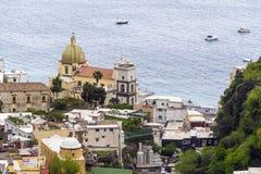 Positano, Италия стоковая фотография