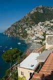 Positano. The idyllic town of Positano on the Amalfi Coast, Italy stock photo
