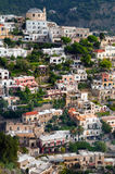Positano on the Amalfi Coast Stock Images