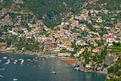 Positano at amalfi coast Stock Photo