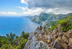 Positano - Amalfi coast Royalty Free Stock Photography