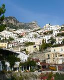 Positano on the Amalfi Coast of Italy Stock Image