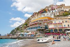 Positano, Amalfi Coast, Italy Stock Photography