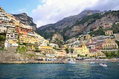 Positano on Amalfi Coast, Italy Royalty Free Stock Image