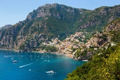 Positano Amalfi Coast Italy Stock Images