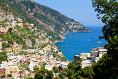 Positano Amalfi Coast Italy Royalty Free Stock Image