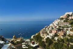 Positano on the Amalfi Coast Royalty Free Stock Photography