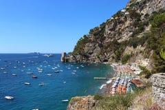 Positano, Amalfi-Küste panoramisch stockfotos