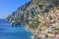 Positano, Amalfi Kust, Italië Royalty-vrije Stock Afbeelding