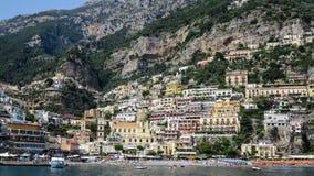 Positano Amalfi kust, Italien Royaltyfri Bild