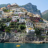 Positano, Amalfi Wybrzeże, Włochy Obrazy Stock