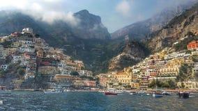 Positano, Amalfi wybrzeże Obrazy Stock