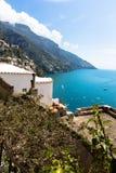 Positano, Amalfitan coast, Italy Royalty Free Stock Photos