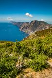 Amalfi Coast And Positano - Campania Region, Italy. Positano And Amazing Scenery Of Amalfi Coast - Salerno Province, Campania Region, Italy, Europe royalty free stock photography