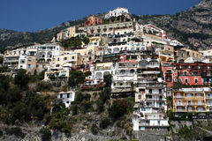 Positano architecture Royalty Free Stock Photography