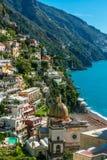 Positano Beautiful seascape. Royalty Free Stock Images