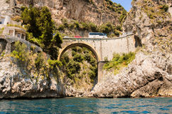 Positano-Brücke Lizenzfreies Stockfoto