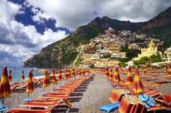 Positano - côte d'Amalfi, Italie Images stock