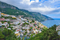Positano city, Amalfi coast, Italy Royalty Free Stock Photo