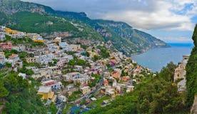 Positano city, Amalfi coast, Italy Stock Photography