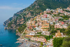 Positano city Royalty Free Stock Images