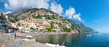 Positano cityscape Royalty Free Stock Photos