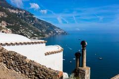 Positano, coast of Amalfi Royalty Free Stock Photos