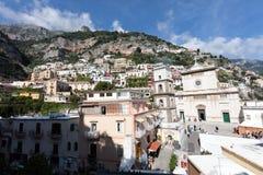 Positano, coast of Amalfi Stock Photo