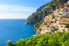 Positano coast view Royalty Free Stock Images